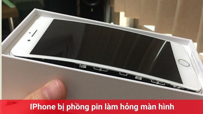 iphone 8 plus hỏng màn hình