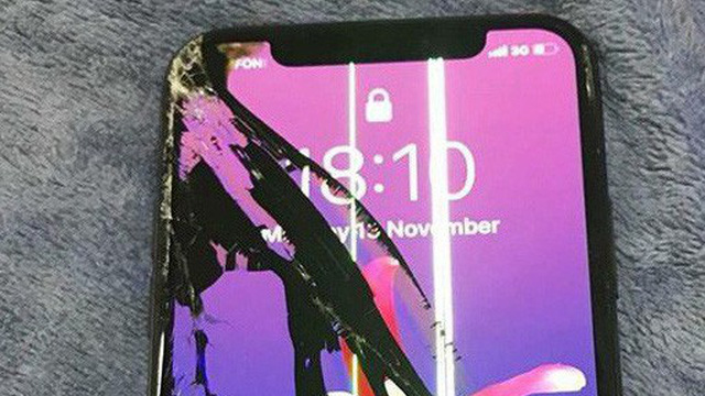 iphone x vỡ màn hình
