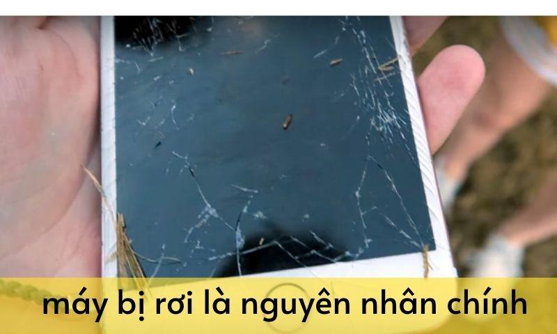 nguyên nhân rơi vỡ iphone 8 plus