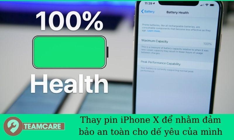 nguyên nhân dẫn đến pin iphone x nhanh hỏng