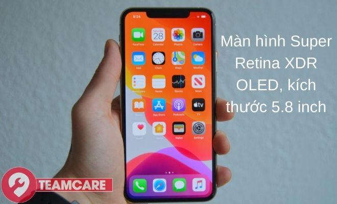 Thông tin về màn hình Iphone 11 Pro chính hãng
