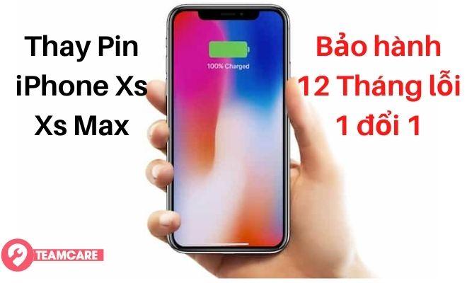 Thay pin iphone xs, xs max giá rẻ