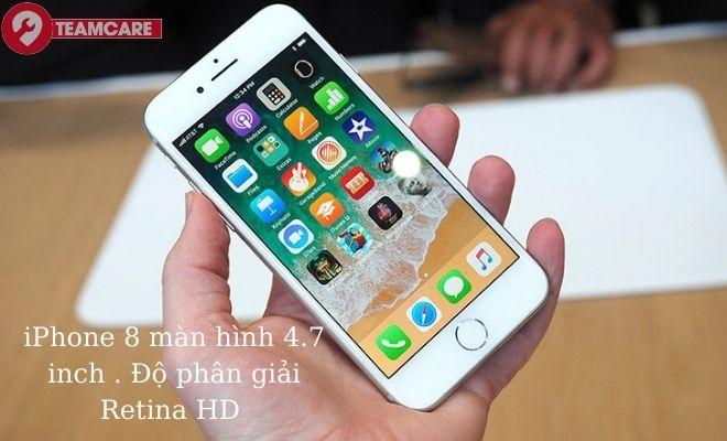 thông tin màn hình mặt kính iPhone 8