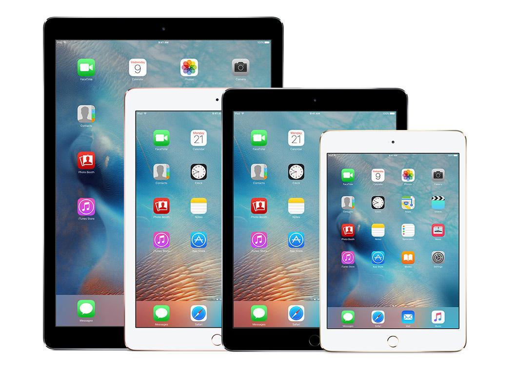 Các lỗi thường gặp ở iPad