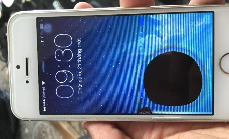 Cách khắc phục màn hình điện thoại bị chảy mực
