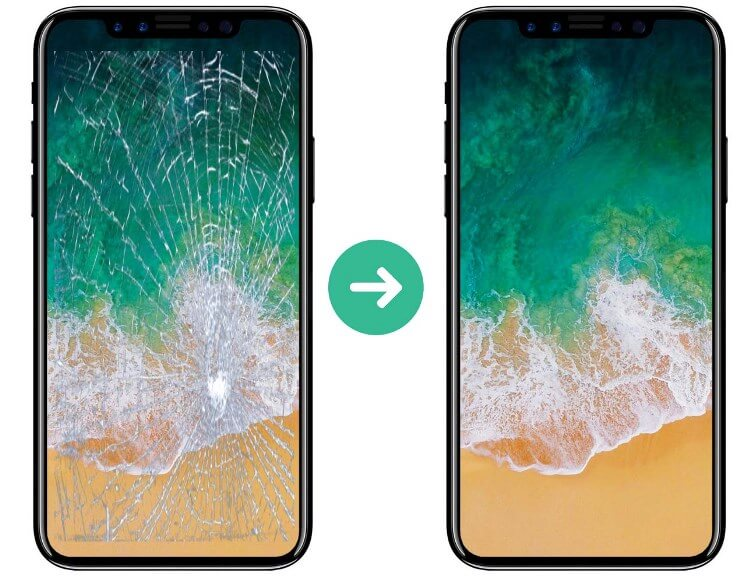 Cách xử lý mặt kính điện thoại bị vỡ