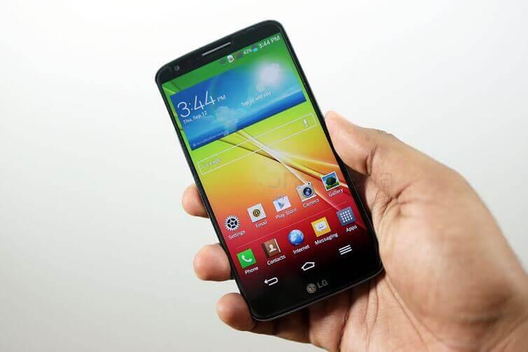 Màn hình điện thoại bị ố đen