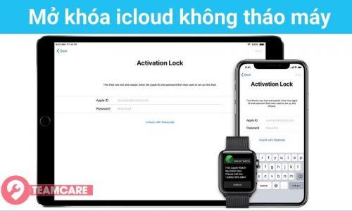 Phá tài khoản icloud bằng phần mềm