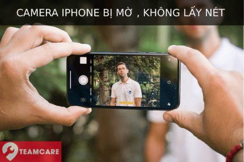 camera iphone bị hỏng