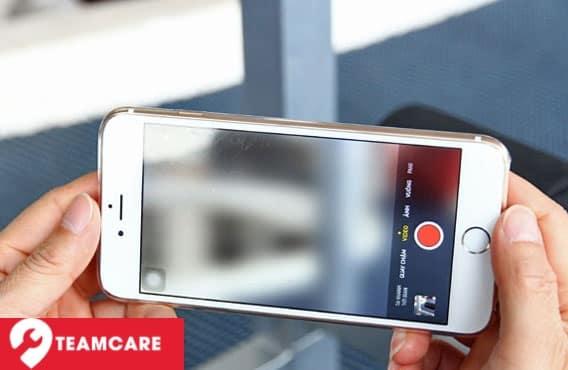 Hình ảnh của camera iphone 6S Plus được chụp bị mờ