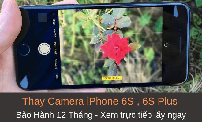 Sửa camera iPhone 6s plus giá rẻ lấy ngay