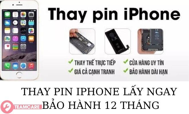pin iphone bảo hành 12 tháng
