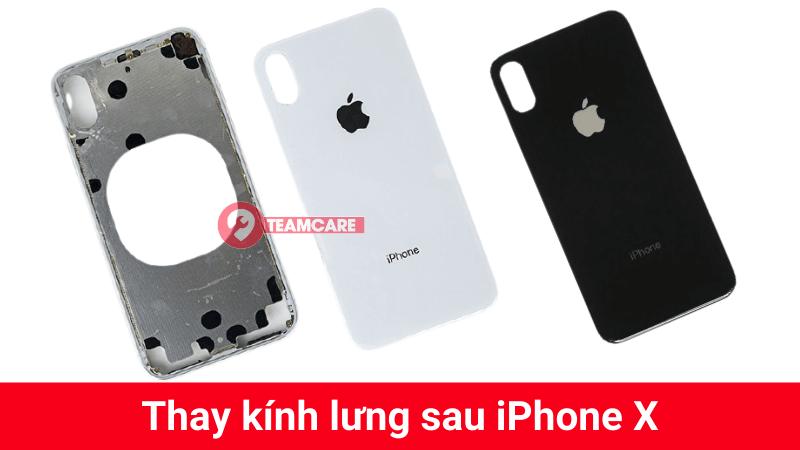 Thay kính lưng sau iPhone x uy tín tại Hà nội