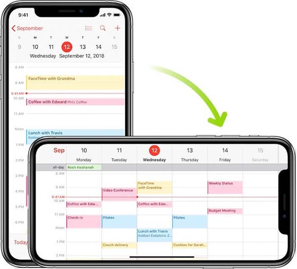 Tìm hiểu về tình trạng xoay màn hình điện thoại iPhone