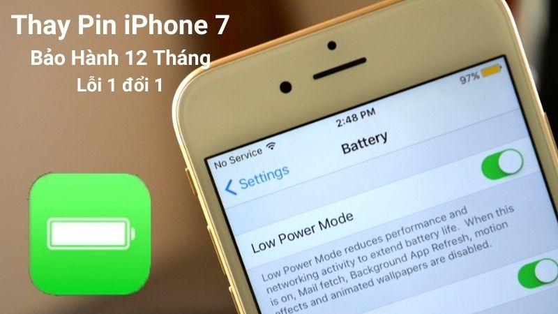 thay pin iphone 7 giá rẻ