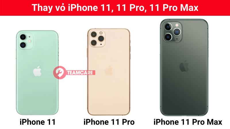 thay vỏ iphone 11 pro max giá rẻ
