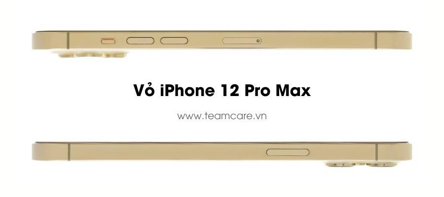 Vỏ iPhone 12 Pro Max Màu Vàng