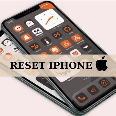 khôi phục cài gốc cho iphone