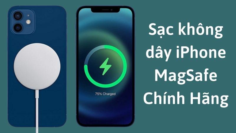 Sạc không dây Magsafe iPhone