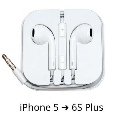 Tai nghe iPhone có dây chân tròn 3.5mm