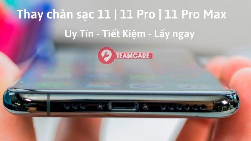 thay chân sạc iphone 11 pro max chính hãng
