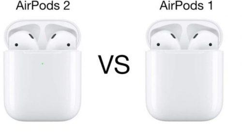 airpods 1 và airpods 2