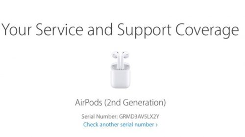 số serial airpods 2