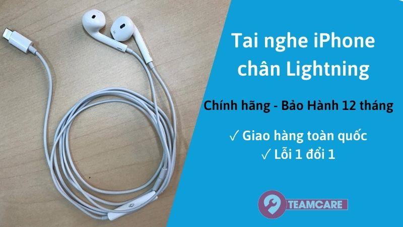 Tai nghe iPhone có dây Lightning chính hãng