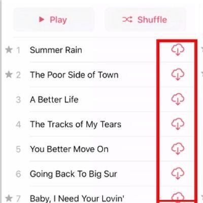 tải nhạc xuống từ apple music
