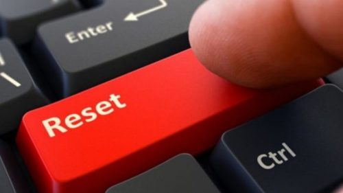 reset laptop