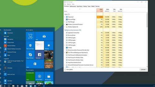 sử dụng task manager