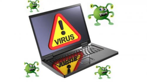 virus xâm nhập laptop